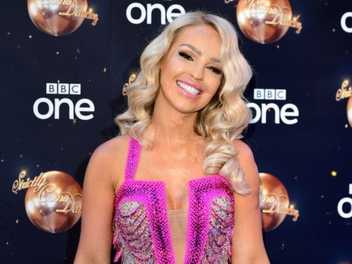 Katie Piper said she feels she does not stand a chance in the competition (Ian West/PA)