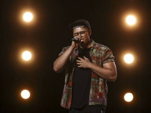 X Factor contestant Felix Shepherd during the audition stage (Tom Dymond/Syco/Thames TV)