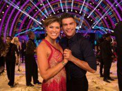 Kate Silverton and Aljaz Skorjanec (BBC/Guy Levy)