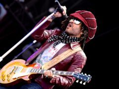 Lenny Kravitz performs at Radio 2's one-day festival in Hyde Park (Ian West/PA)