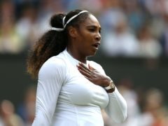 Serena Williams has made a music video (Steven Paston/PA)
