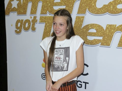 British teenager Courtney Hadwin was described as a 'superstar in the making' following her performance in the America's Got Talent final (Willy Sanjuan/Invision/AP)