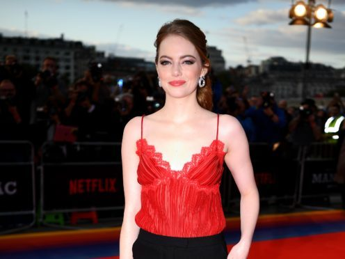 Emma Stone was speaking at the world premiere of her new Netflix series Maniac at London's Southbank Centre (Victoria Jones/PA)