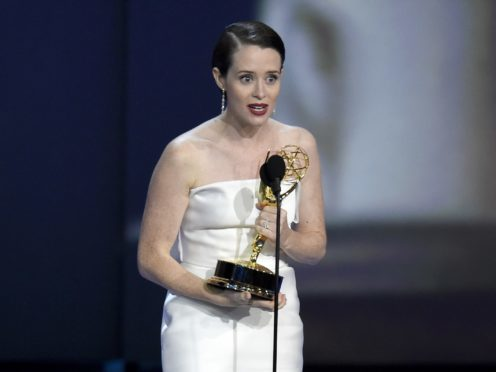 Claire Foy won the Emmy for outstanding lead actress in a drama series for The Crown (Chris Pizzello/Invision/AP)