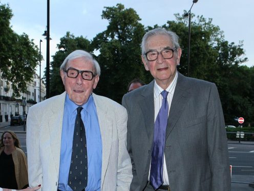 Eric Sykes and Denis Norden (Ian West/PA)
