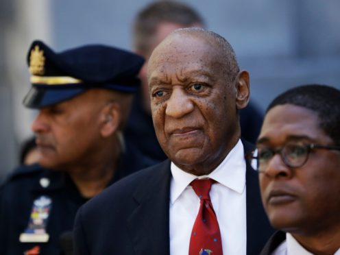 Bill Cosby, centre, will be sentenced in the first major trial of the #MeToo era (Matt Slocum/AP)