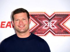 X Factor presenter Dermot O'Leary run to the rescue. (Ian West/PA)