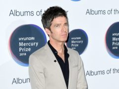 Noel Gallagher is shortlisted for the Mercury Prize (Ian West/PA)