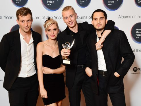 Wolf Alice set to return to UK albums chart after Mercury Prize win (Ian West/PA)