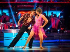 Kate Silverton said her husband has had to be more understanding that she expected after Strictly kiss (Guy Levy/BBC)