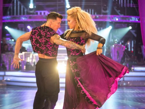 Gorka Marquez and Katie Piper (Guy Levy/BBC)