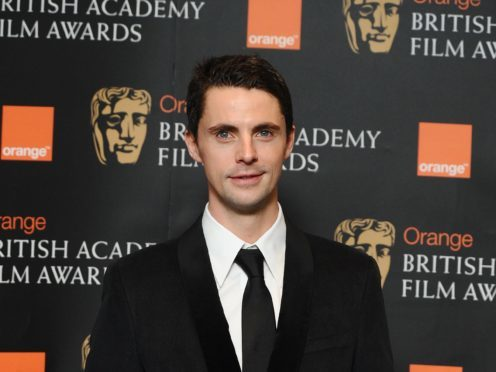 Matthew Goode said Roger Federer is an assassin on the court (PA)