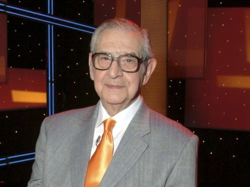 Former TV host and comedy writer Denis Norden has died aged 96, his family has said (REX/Shutterstock)
