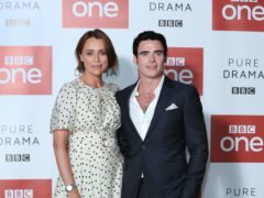Keeley Hawes and Richard Madden star in Bodyguard ( Isabel Infantes/PA)