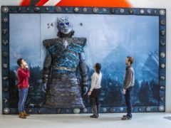 A Game of Thrones tapestry has gone on display at Glasgow Caledonian University (Peter Devlin/PA)