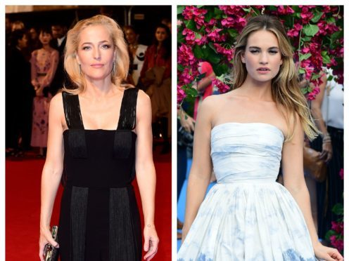Gillian Anderson and Lily James will star in the play (Ian West/PA)