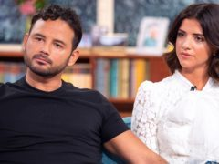 Ryan Thomas and Lucy Mecklenburgh on This Morning (Ken McKay/ITV/REX/Shutterstock)