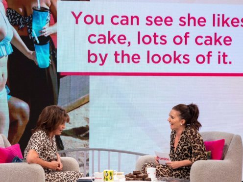Candice Brown appears on ITV's Lorraine. (KenMcKay/ITV/REX/Shutterstock)