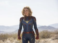 Brie Larson as Captain Marvel (Chuck Zlotnick/Marvel Studios)