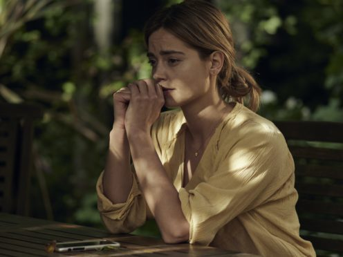 Jenna Coleman said the drama had been challenging (Synchronicity Films Ltd/Lachlan Moore)