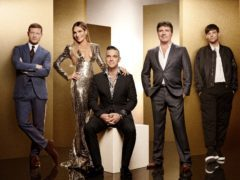 X Factor debuted its new-look judging panel of Robbie and Ayda Williams, Louis Tomlinson and Simon Cowell (Thames/Syco/ITV)