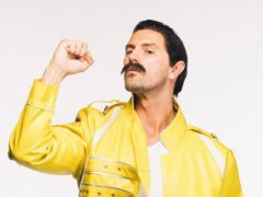 That's some Top Gear! Paddy McGuinness dresses up as Freddie Mercury (The Movember Foundation)