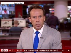 'Technical issue' blamed for BBC live channels airing recorded programming (BBC screengrab)