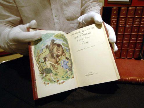 First edition Narnia books (David Jones/PA)