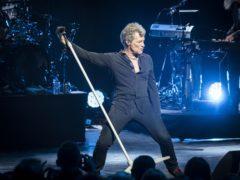 Bon Jovi live on stage (PA)