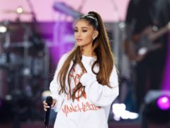 Ariana Grande posts tribute to late boyfriend Mac Miller (Dave Hogan for One Love Manchester/PA)