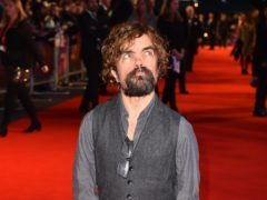 Peter Dinklage is known for starring in Game Of Thrones (Matt Crossick/PA Wire)