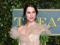 Keira Knightley described her experience of giving birth in searing detail for an essay published in a feminist collection (Matt Crossick/PA Wire)
