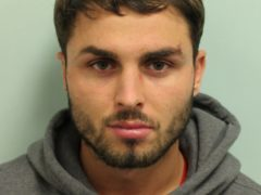 Arthur Collins who is challenging his 20-year jail sentence for a nightclub acid attack (PA/Met Police)
