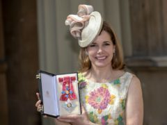Darcey Bussell after being made a Dame at an Investiture ceremony at Buckingham Palace (Steve Parsons/PA)
