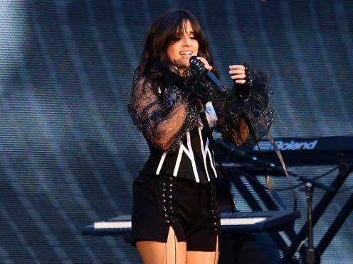 Camila Cabello won four American Music Awards (Ian West/PA)