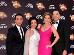 Bruno Tonioli (left) Shirley Ballas, Dame Darcey Bussell and Craig Revel Horwood will appear together on the Strictly tour (Ian West/PA)