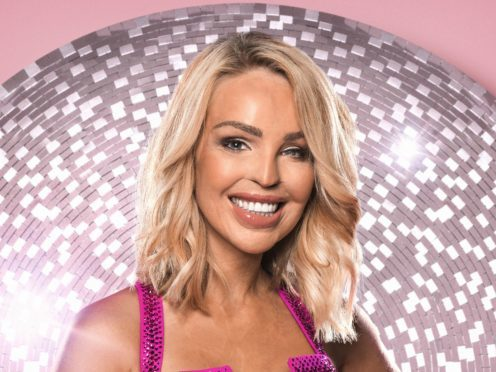 Katie Piper is currently starring in Strictly Come Dancing (Ray Burmiston/PA)