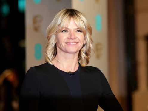 Zoe Ball leaves the Radio 2 Breakfast Show at BBC Broadcasting House (Kirsty O'Connor/PA)