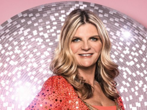 Susannah Constantine has become the first contestant to leave this year's Strictly Come Dancing (Ray Burmiston/PA)