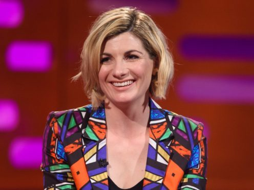 Jodie Whittaker also said her costume as the Time Lord was influenced by Coldplay's album covers (Matt Crossick/PA)
