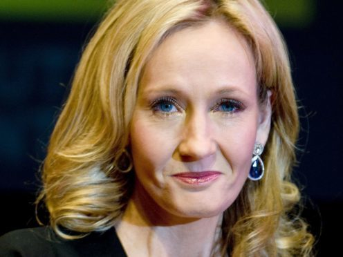JK Rowling backed Rahul for Bake Off victory. (Ian West/PA)