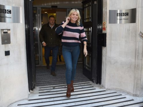 Zoe Ball has been named as the first female host of the Radio 2 Breakfast show (Kirsty O'Connor/PA)