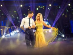 Katie Piper and her dance partner Gorka Marquez (Guy Levy/BBC)