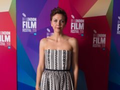 Maggie Gyllenhaal (David Parry/PA)