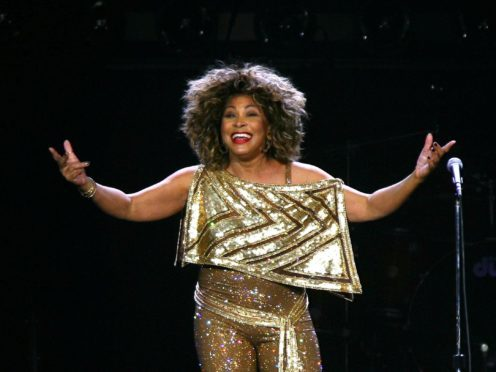 Tina Turner was forced to watch a live sex show on her wedding night (Johnny Green/PA)