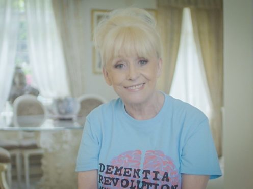 Dame Barbara Windsor appears in a video (Alzheimer's Society)