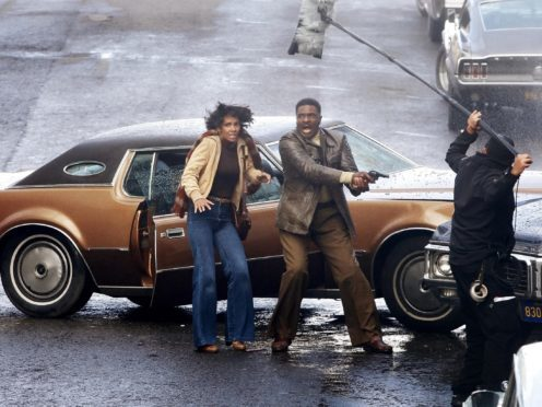 Cloud Atlas starring Halle Berry, left, was filmed in Glasgow in 2011 (Danny Lawson/PA)