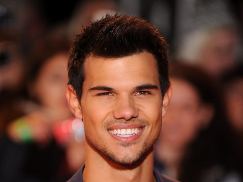 Taylor Lautner marked the 10th anniversary of the first Twilight movie by joking about his likeness with Kendall Jenner (Dominic Lipinski/PA)