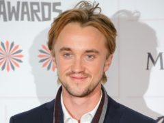 Tom Felton played Draco Malfoy in the Harry Potter films (Dominic Lipinski/PA)