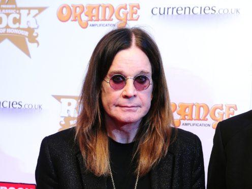 Ozzy Osbourne (Ian West/PA)